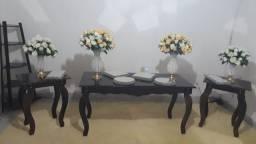 Título do anúncio: Mesas rústicas e mesa carroça festa md aluguel