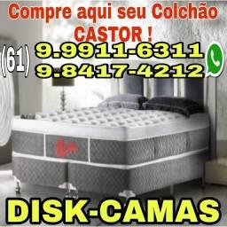 Aqui tem COLCHÕES CASTOR  & cama box baú !!! Promoção
