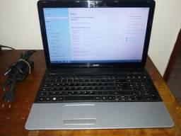 Título do anúncio: notebook acer core i5 4gb memoria hd 500gb