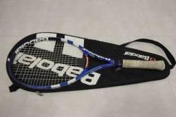 Raquete de tênis / Babolar Pure Drive / em Plástico Azul 69 cm x 27 cm x 3 cm
