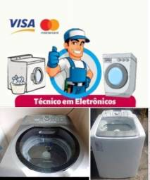 Conserta se maquina de lavar adomicilio