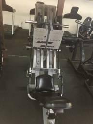 Leg 45 unilateral Lion fitness