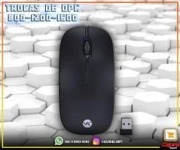 Título do anúncio: Teclado Mini E Mouse Sem Fio Dynamic Flat Abnt2 1200Dpi Preto Usb - Dc110 M21sd9sd21