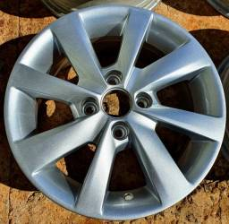 Jogo rodas aro 14 4x100 originais VW Gol Voyage Saveiro Parati Santana Passat