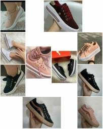Vendo sapatênis puma e outros plataforma ( 120 com entrega)