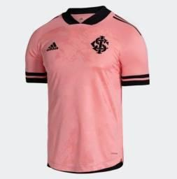Camisa rosa do Inter