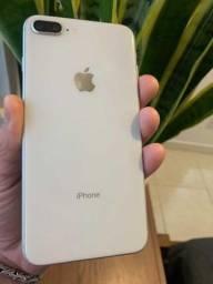 iPhone 8 plus 64g branco impecável !!