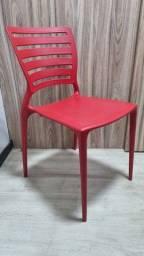 Título do anúncio: 4 Cadeiras Tramontina Sofia Vermelhas