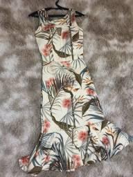 Título do anúncio: Vestido Midi - Estampado