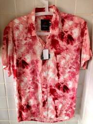 Linda Camisa Estampada Fiori M