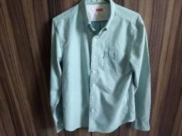 camisa levis manga longa