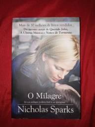 Livro: O Milagre de Ncholas Sparks