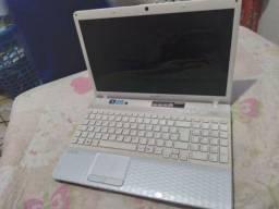 Laptop i3 Windows 7 vaio (com defeito)