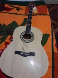 Violão Memphis AC 40cor natural