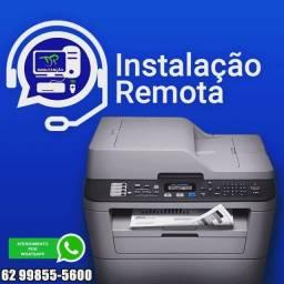Título do anúncio: Instalação remota de multifuncionais, impressoras e scanners