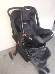 Título do anúncio: Vendo carrinho + bebe conforto semi novo