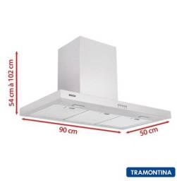 Título do anúncio: Coifa Tramontina New Dritta 90 - 220v