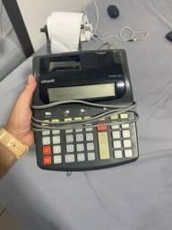 Calculadora com impressora