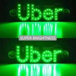 Kit Uber placa led + 2 leds pingo branca. Tudo novo na caixa