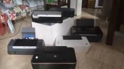 Lote de 6 Impressoras 3 em 1 Jato de Tinta (somente lote)