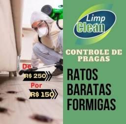Título do anúncio: LIMPCLEAN-CONTROLE DE PRAGA