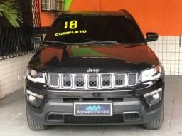 jeep compass longitude + diesel +teto + 4x4 + 50 mil km + novo