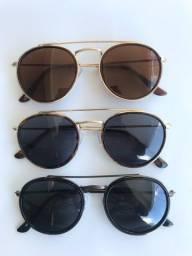 Título do anúncio: Óculos de Sol Redondo
