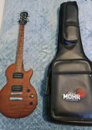 Guitarra Les Paul Epiphone Special VE + Case em courino (valor negociável)