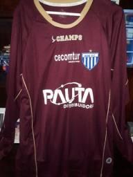 Título do anúncio: Camisa Oficial Goleiro Avai GG #1 Original Champs. Zerada, item de coleção