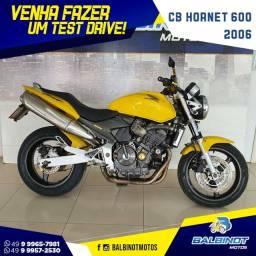 Título do anúncio: CB Hornet 600 2006 Amarela