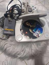 Playstation one completo vendo ou troco