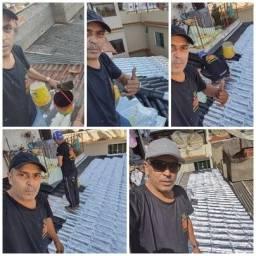 Título do anúncio:    Tiramos vazamento de lage é telhados com manta liquida ou manta aluminio