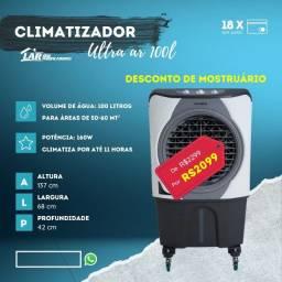 climatizador 100 litros