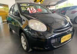 Título do anúncio: Nissan March 1.0 16V Flex Básico /2012 R$19.990,00 Lique agora!!!