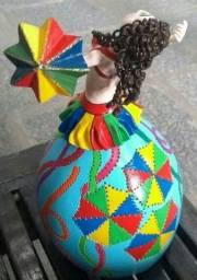 Boneca /abaju ( bailarina de cabaca)