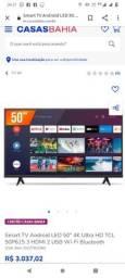 Título do anúncio: Vendo tv de 50 polegadas nova valor 3000
