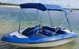 Título do anúncio: Lancha jetboat, revisada, é só pegar e navegar