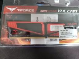 Título do anúncio: 8g Memória RAM Team Group T-Force Vulcan 2666MHz DDR4