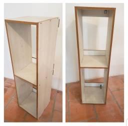 Estante simples nicho de madeira em mdf