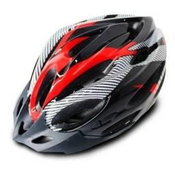 Título do anúncio: Capacete para ciclismo tamanho M / G novos sem uso. Bike bicicleta