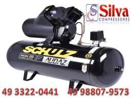 Compressor de ar 20 pés 150 Litros Schulz