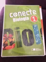 Título do anúncio:  Livro Conecte Biologia - Vol.1 - Ensino Médio