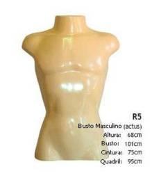 Manequim Masculino Meio Corpo Busto Camisa