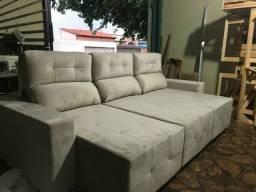 Fábrica de sofás retrátil e reclinável