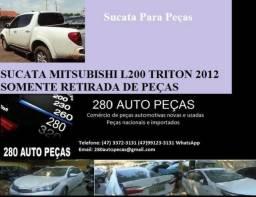 L 200 Triton 2012 Para Pecas