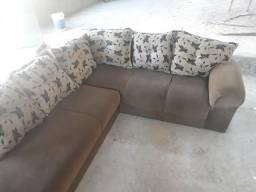 Sofa de canto grande usado em serrinha zap *