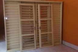 Vendo janela sasazaki veneziana multiflex