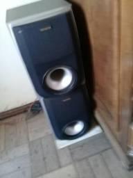 2 caixas de som