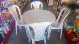 Promoção cadeiras é mesas topplat