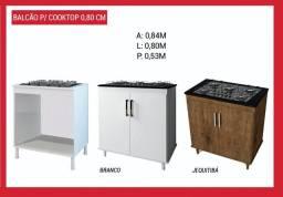 Balcão /cooktop 0,80
